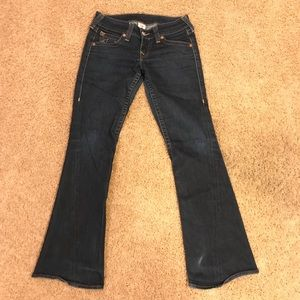 429522d4efd Women Flair Bell Bottom True Religion Jeans Sz 29 ...